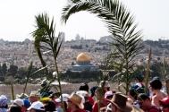 Palm Sunday in Jerusalem